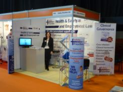 Safety Priorities / Dental Support UK stand at the NEC Dentistry Show March 2010
